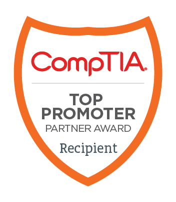 CompTIA Top Promoter Award 2017