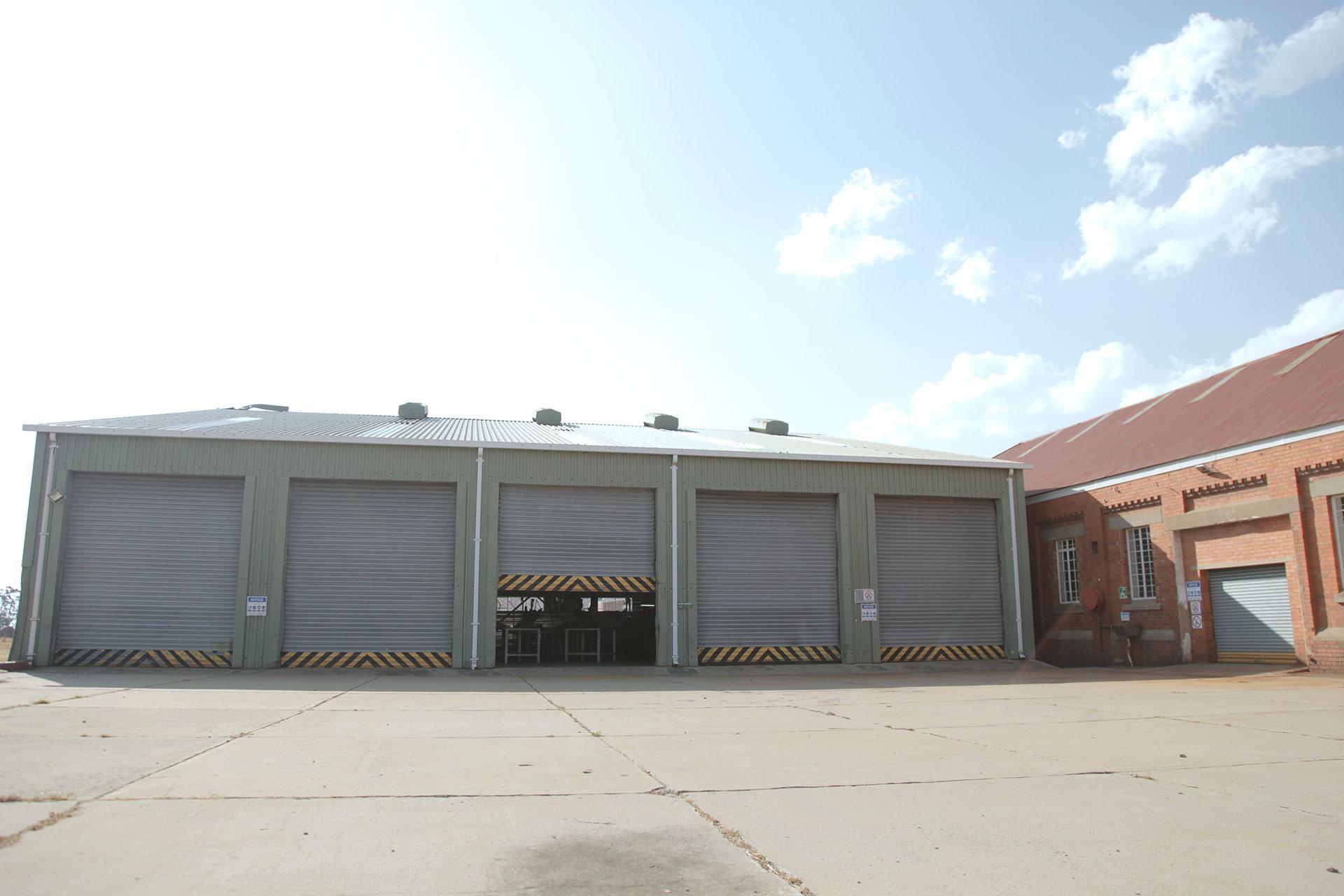 Durnacol workshop exterior